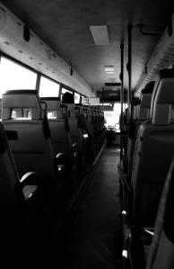 Bus a Blanco y Negro