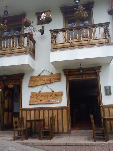 Vista Externa Restaurante Salento