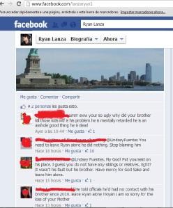Facebook Ryan Lanza