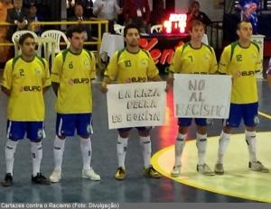 Atletas Brasileros Protestan Contra Racismo
